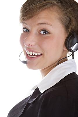 耳麦,女商人,垂直画幅,顾客,仅成年人,现代,青年人,专业人员,人的脸部,技术
