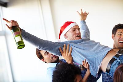 氦,众人抬举,工作派对,蠢人,办公室,葡萄酒,水平画幅,工作场所,含酒精饮料