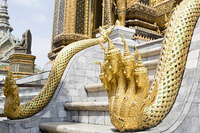 玉佛寺,雕像,海德拉,拉那风景饭店,天空,水平画幅,无人,动物身体部位,异国情调,户外