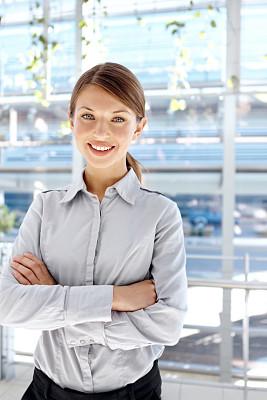 信心,职业,安全,垂直画幅,办公室,美,留白,注视镜头,美人,白人