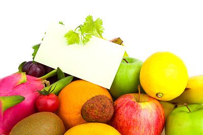 健康食物,水果,笔记本,白色背景,多样,空白的,分离着色,荔枝,皮塔雅,食谱