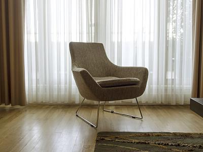 无人,椅子,顶楼公寓,美,禅宗,留白,水平画幅,美人,地毯,家具