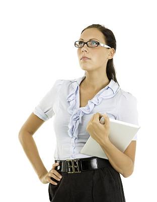 女商人,平板电脑,拿着,垂直画幅,半身像,休闲活动,仅成年人,青年人,专业人员,信心