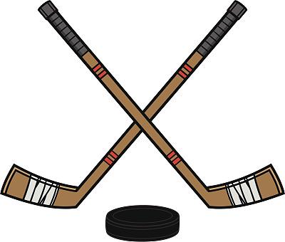 冰球棒,冰球,运动,团体性运动,无人,绘画插图,卡通,矢量,曲棍球棒