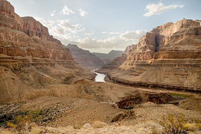 罗伊尔角,科罗拉多河,美国西部,水平画幅,无人,岩层,户外,北美,石头,著名自然景观