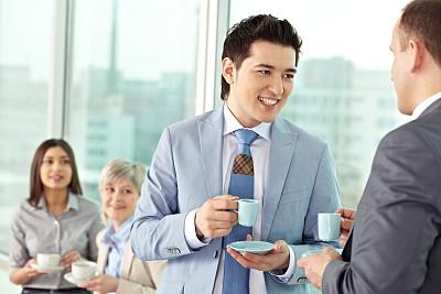 办公室,工间休息,周末活动,套装,饮料,男商人,经理,男性,现代,青年人