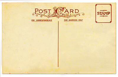 明信片,红色,贺卡,褐色,艺术,水平画幅,古老的,古典式,成品,漩涡形