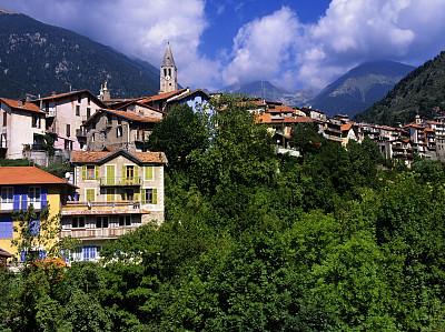 乡村,滨海阿尔卑斯,水平画幅,山,古老的,古典式,旅行者,普罗旺斯,过去