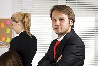 商务,团队,办公室,水平画幅,注视镜头,会议,人群,套装,商务会议,男商人