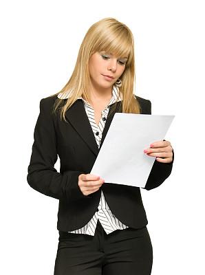 女商人,垂直画幅,智慧,套装,图像,文档,经理,仅成年人,现代,头发