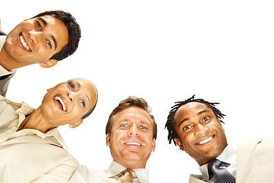 商务,低视角,白色,水平画幅,注视镜头,男商人,男性,仅成年人,白领,青年人