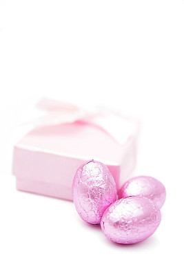 复活节彩蛋,包装纸,粉色,垂直画幅,留白,复活节,无人,蝴蝶结,彩色图片,新生活