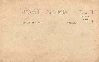 明信片,空白的,纸,留白,水平画幅,羊皮纸,无人,古老的,古典式,背景分离