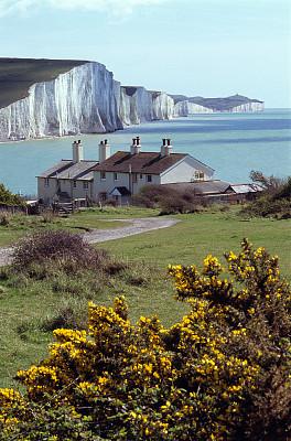 英格兰,海岸线,北丘,多佛的白色悬崖,多佛,white cliffs,伊斯特本,南丘,肯特,英吉利海峡