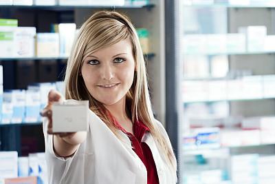 技术员,药房,处方药,美,水平画幅,注视镜头,化学家,商店,白人,实验室