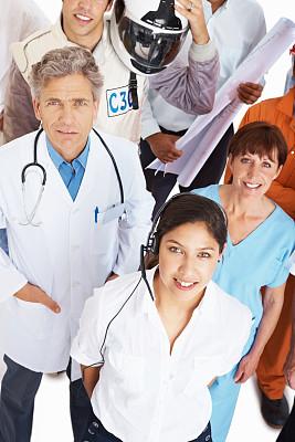 各行各业人员,视角,垂直画幅,混合年龄,男性,仅成年人,工业,青年人,医药职业,专业人员