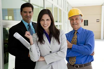 商务,蓝图,团队,衣服,拿着,巴基斯坦人,正面视角,30到39岁,建筑承包商,半身像