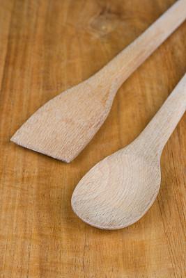汤匙,垂直画幅,饮食,木制,无人,古老的,木匙,古典式,组物体,背景分离