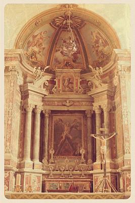 大教堂,明信片,阿玛尔菲,布希曼族,大约15世纪,泥墙画,绘画作品,雕像,灵性,教堂