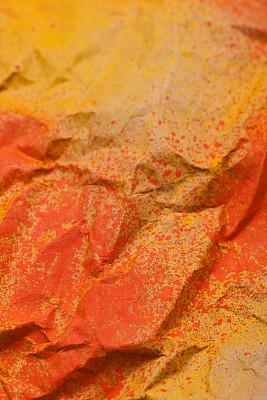 弄皱的,纸,背景,卡夫,牛皮纸,垂直画幅,褐色,橙色,无人,背景分离