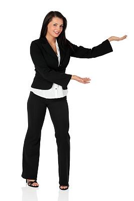 女商人,垂直画幅,正面视角,领导能力,手势语,白人,图像,经理,仅成年人,白领