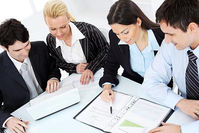 中等数量人群,商务,职业,办公室,笔记本电脑,水平画幅,会议,人群,套装,白人