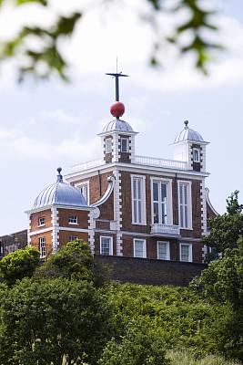 格林威治,天文台,格林威治子午线,风标,经度,垂直画幅,褐色,无人,科学,英格兰