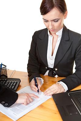 垂直画幅,办公室,笔记本电脑,套装,白人,图像,文档,部分,技术,计算机