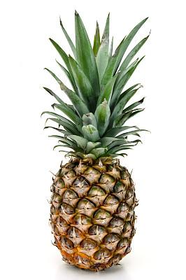 清新,菠萝,咕噜菜,正面视角,热带水果,水果,无人,全身像,有机食品,生食