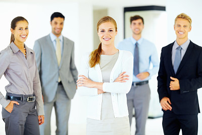 领导能力,女性,团队,集体照,男商人,新创企业,经理,男性,仅成年人,青年人