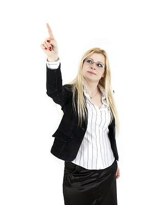 女商人,白色背景,保险代理人,垂直画幅,顾客,套装,新创企业,图像,经理,仅成年人