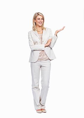 商务,女人,垂直画幅,美,美人,白人,仅成年人,白领,青年人,白色