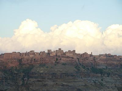 水平画幅,夜晚,时间,户外,要塞,石材,过去,城镇,远古的,自然
