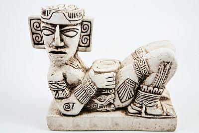 雨神恰克姆,契晨-伊特萨,纪念碑,古代文明,水平画幅,古老的,石材,拉丁美洲,国际著名景点,考古学