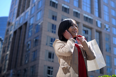 女人,幸福,留白,半身像,四肢,噪声,仅成年人,日本人,现代,想法
