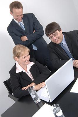 商务,团队,垂直画幅,办公室,美,留白,笔记本电脑,智慧,人群,套装