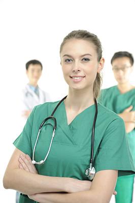 健康保健,登山杖,医科学生,垂直画幅,男性,仅成年人,青年人,白色,专业人员