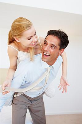 男人,妻子,垂直画幅,30到39岁,伴侣,白人,男商人,男性,仅成年人,白领