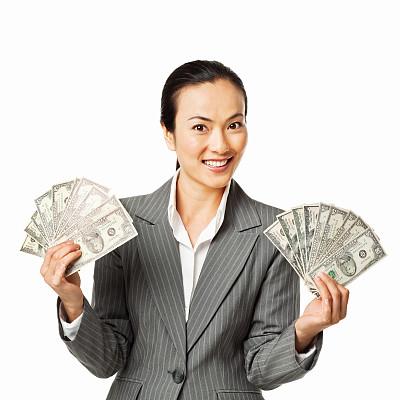 女商人,分离着色,留白,半身像,套装,仅成年人,青年人,专业人员,商务,女人