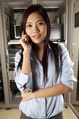 it技术支持,垂直画幅,电话机,网络服务器,图像,经理,支架,工程师,技术,公司企业