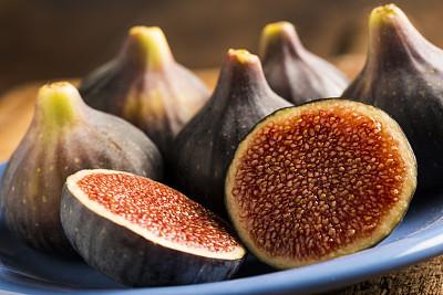无花果,自然,饮食,水平画幅,水果,秋天,无人,生食,夏天,红色