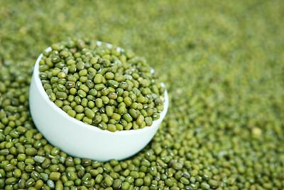 青豆,饮食,干燥食品,水平画幅,绿色,无人,碗,食品,豆,健康食物
