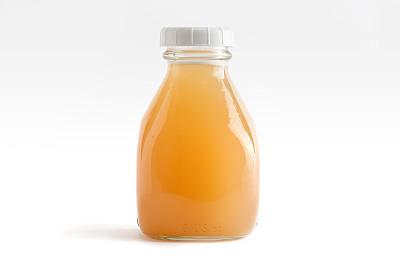饮料,橙子,饮食,液体,水平画幅,瓶子,无人,玻璃,玻璃杯,果汁