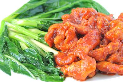 咖喱,特写,肉,蔬菜,泰国食品,选择对焦,水平画幅,膳食,泰国,白色