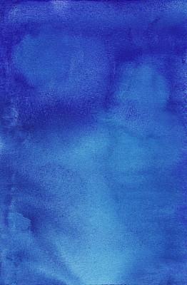 水彩画颜料,蓝色背景,垂直画幅,艺术,无人,蓝色,抽象,湿,水彩颜料