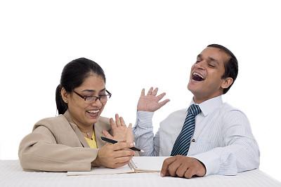 印度人,男商人,女商人,销售职位,商务关系,经理,男性,仅成年人,青年人,专业人员