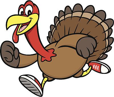 火鸡,径赛项目,家禽,绘画插图,鸟类,膳食,卡通,运动,松弛练习,晚餐