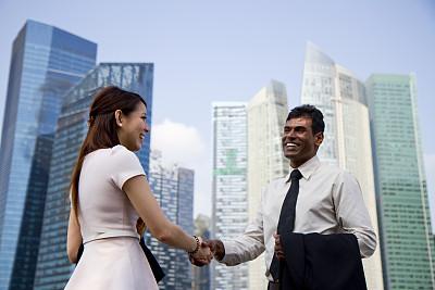 商务人士,亚洲,会议,新加坡市,套装,男商人,男性,仅成年人,长发,印度次大陆人