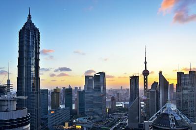 上海,自然美,金融,中心,金茂大厦,东方明珠塔,黄浦江,外滩,浦东,水