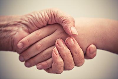 家庭护理,老年人,手,痴呆症,老年痴呆症,社区看护,衰老过程,想法,青年人
